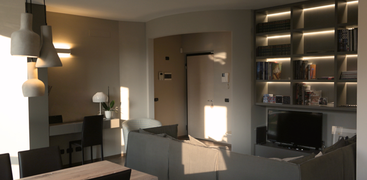 Relooking appartamento, Pavia